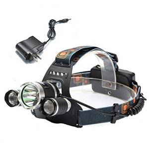 XM-L T6 LED 3T6 Rechargeable Headlamp Headlight Torch / CREE XM-L T6 4 Modes Rechargeable Led Headlight Headlamp Head Lamps Led Headlight Light Plus AC Charger . s: Internal wiring applie