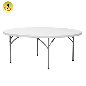 Commercial Rental Catering Folding Round Plastic Tables For Sale JC-J01