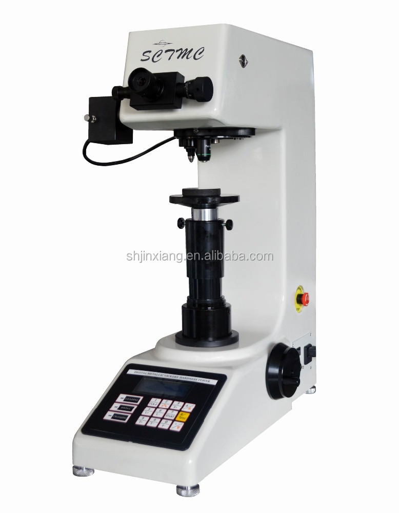 30kg Manual Input of Indentation Length Vickers Hardness Tester with Automatic Turret