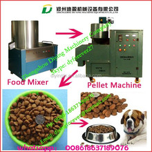 Auto small size dental chews Dry Pet food Pallet making machine / Dog food machine