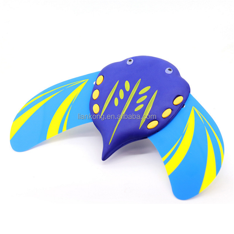 Wholesale new products water power Devil fish diving swim toys