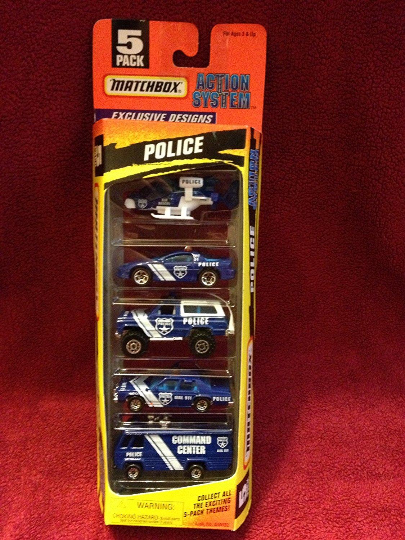 Matchbox Police Action System 5 Pack Exclusive Design Set