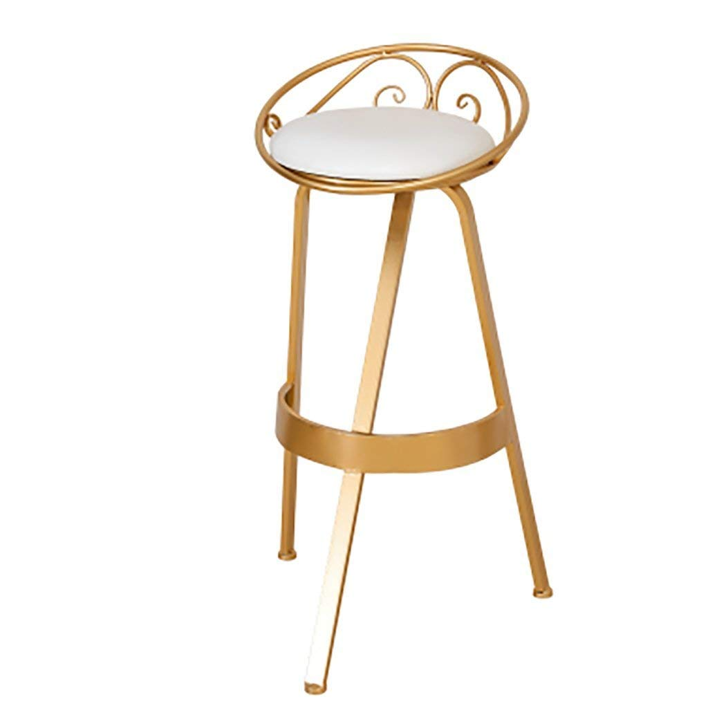 Y-YF Stools Chairs Sofas Bar stools Bar chair, bar chair, stool coffee shop, golden chair, bar chair, front desk, personalized chair. (Color : Chair)