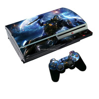 CUSTOM Vinyl Skin Sticker Decal Protector for PS3 FAT