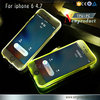 New Cheap TPU+PC LED Flash Light Up Case Remind Incoming Call Cover for Apple iPhone 5 5S 6 6S 4.7 6 6S Plus 5.5