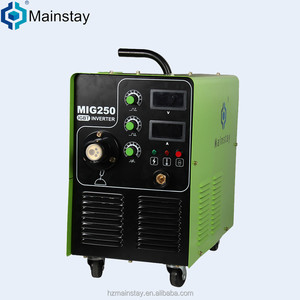 Provide trade assurance 220V high frequency welder for sale MIG250