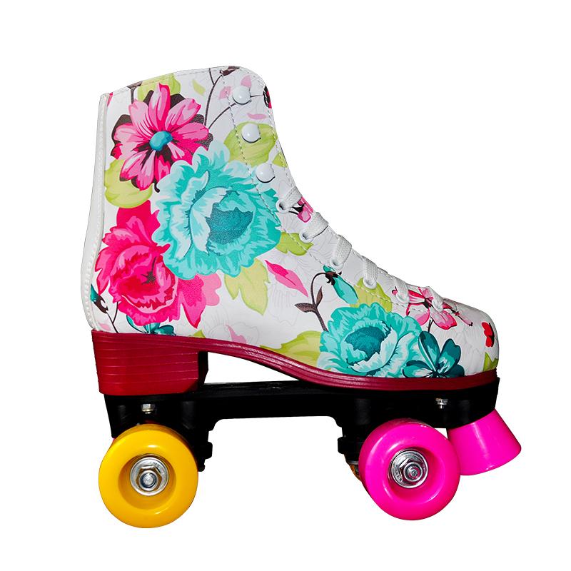 Beautiful Colorful Flower Pink Wheels