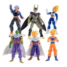 Gratis verzending 5 inch <span class=keywords><strong>dragon</strong></span> <span class=keywords><strong>ball</strong></span> <span class=keywords><strong>z</strong></span> action figures Piccolo Mobiele Trunks Super Saiyan Goku Gohan Vegeta