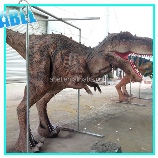 Abel vivid and light weight Playground lifelike dinosaurs electronic adult size clothing for sale