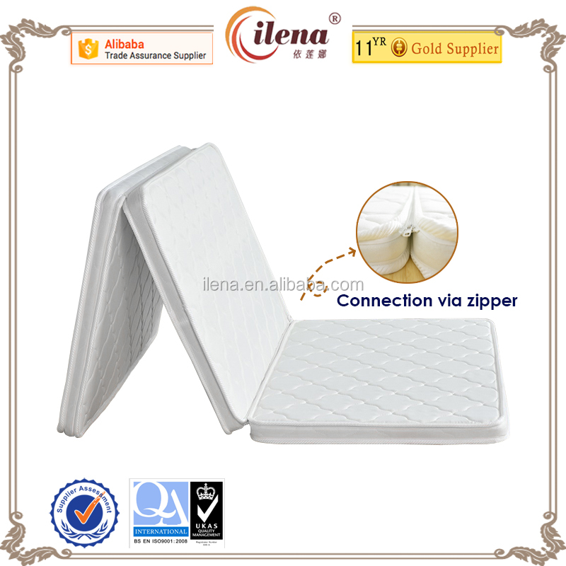 J-44A Convenient 3 folding coconut coir mattress