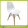 Rustic Modern Bar Cafe Chair Plastic Seat Shell Chair Seat