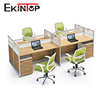 Modern call center modular 4 person office furniture workstation office
