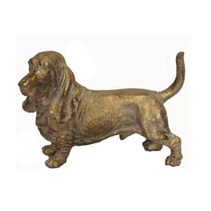 Hot sale resin English Springer Spaniel dog funny resin dog statues decorative dog statue polyresin decoration