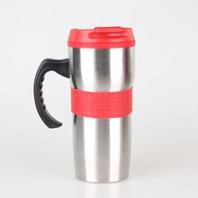 wholesale cute thermal coffee thermos travel auto mugs for travel logo customized travel mug with handle