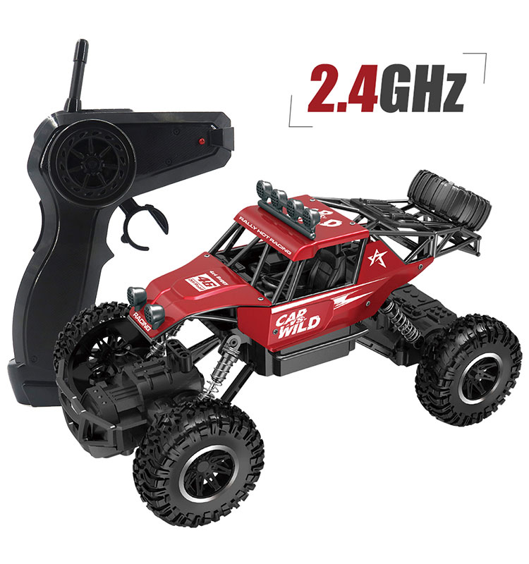 8. SL-109A_Red_Metal_Off-road_Climbing_RC_Car