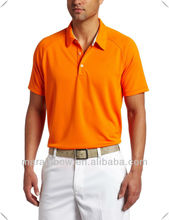 Neon orange Lightweight, moisture-managing, technical performance polo for golf