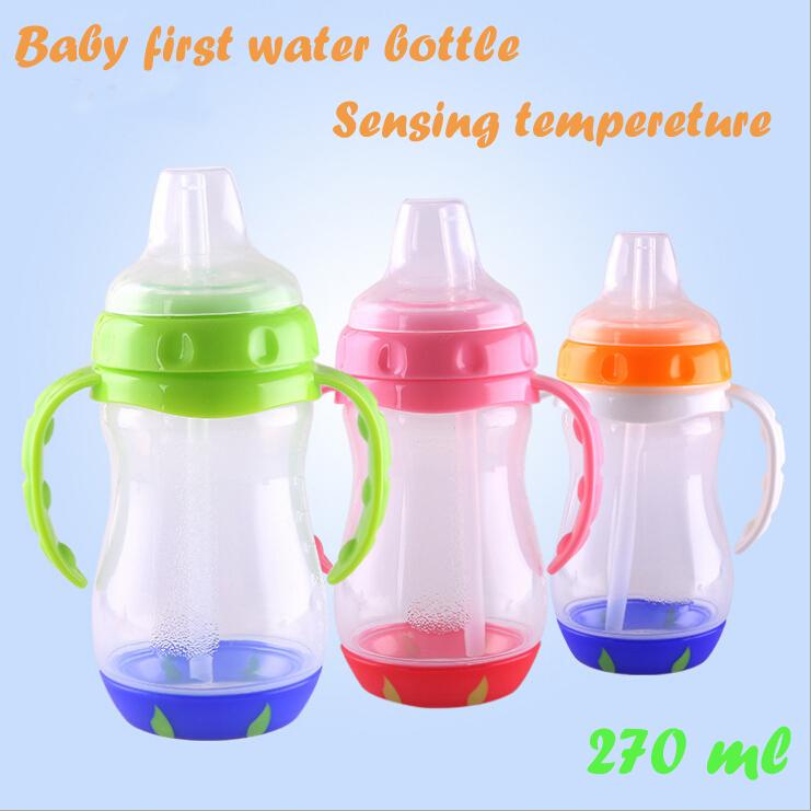 Новинка измерения температуры детские первые детей бутылку воды чашки 8095