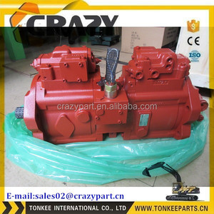 KAWASAKI K3V112 K3V112DT K3V112DTP hydraulic pump for SK200-8 EC210B