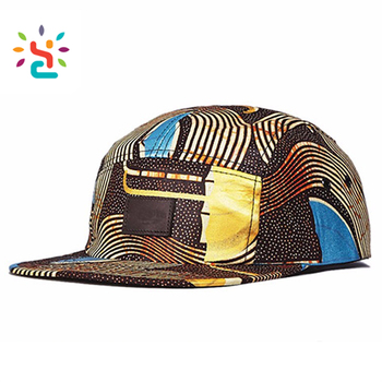 Leather label african print 5 panel hats flip brim custom embroidered size  9 fitted winter snapback f2f58fad99d
