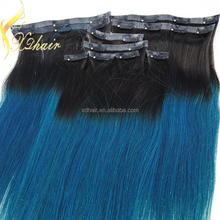full head clip in hair extensions free sample hair salon skin weft seamless hair extensions
