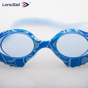 2018 New Water Transfer Printing Swimming Goggle for adult
