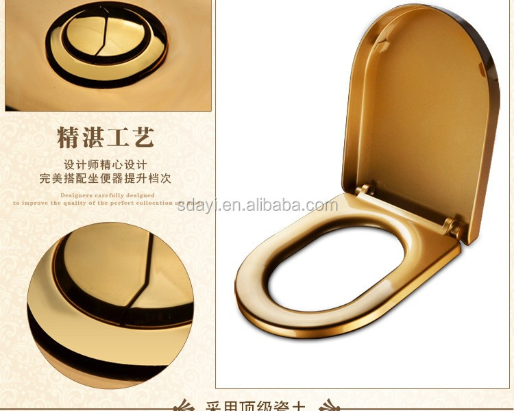 gold plated toilet seat. Sanitary ware golden wc toilet bowl ceramic gold plated Ware Golden Wc Toilet Bowl Ceramic Gold Plated