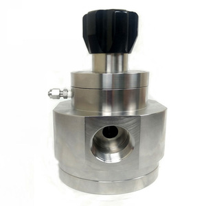 1 to 2 inch high flow gas pressure regulator in stainless steel 316