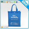 Eco Friendly Recycled Colorful Non Woven Shopping Tote Bag
