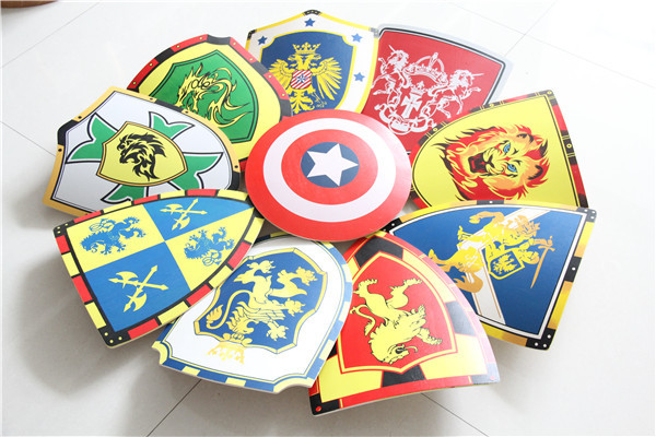 sword shield toy,toy shields,wooden swords and shields