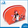 Yuong girls small size hard PU material cartoon printing cosmetic makeup storage bag