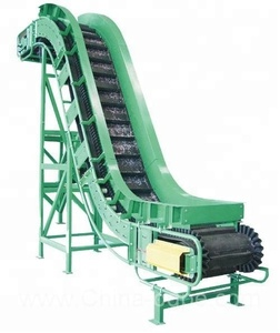Limestone Transport Z Type Sidewall Conveyor Equipment
