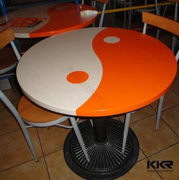 Kingkonree Table Et Chaise De Restauration Rapide Moderne Pour Restaurant