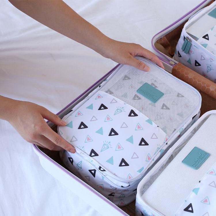 Super Melakukan Perjalanan Berkualitas Tinggi Tahan Air Portable Polyester Sepatu Tas Penyimpanan Outdoor Olahraga Golf Perjalanan Tas Sepatu