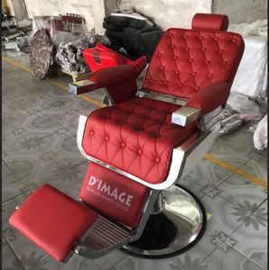 3 Years Warranty Heavy Duty Hydraulic Pump Recline Barber Chair With Customer Logo