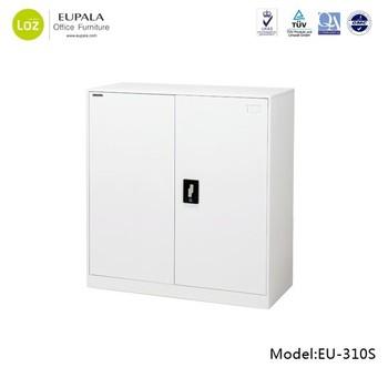 Half Height 2 Door Steel Filing Office Cabinet/swing Door File Cabinet