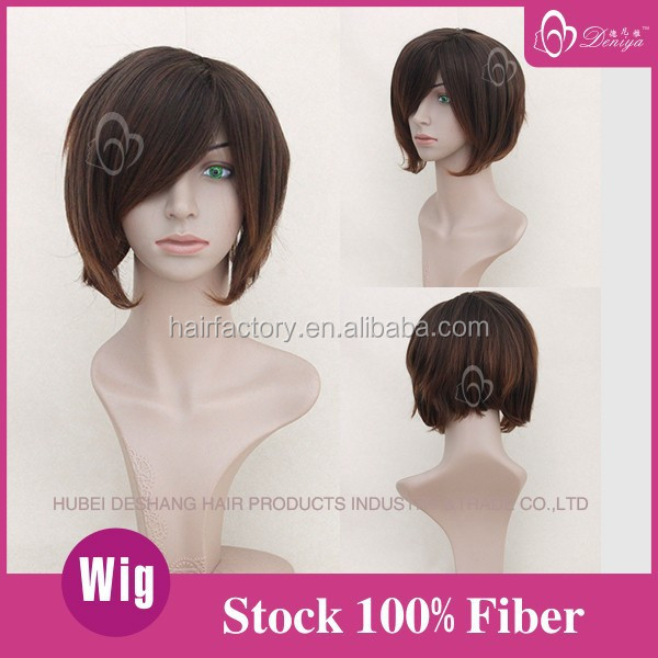 On sale Bob Style Short noble synthetic hair wig
