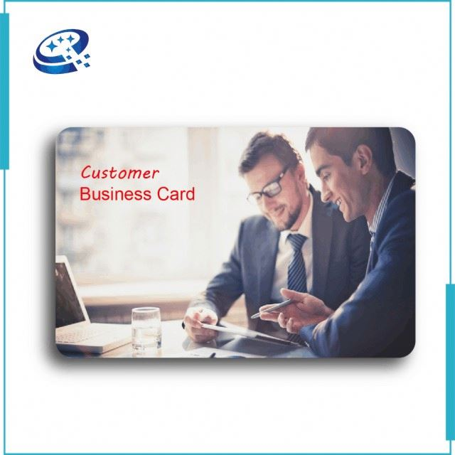 High Quality Prepaid Plastic Cards Customer Loyalty With 13.56Mhz Chip