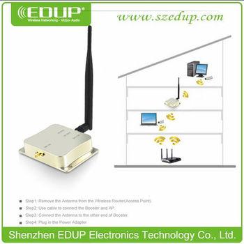 Edup Ep-ab003 8 Watt 2 4ghz Wifi Wireless Broadband Router Range Signal  Booster Amplifier - Buy Wifi Signal Booster,Power Amplifier,Wifi Antenna