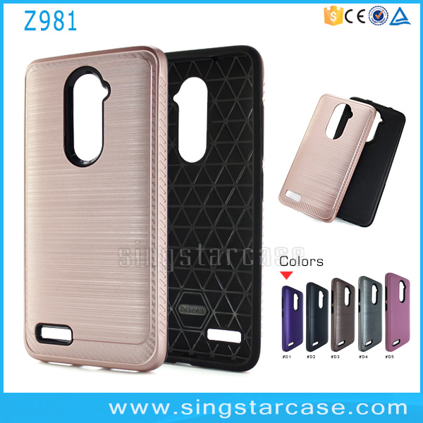 reputable site a40db bc7cb Wholesale For Zte Zmax Pro Z981 Case,Dual Layer Silm Armor Case For Zte  Z981 - Buy For Zte Zmax Pro Z981 Case,Case For Zte Z981,Slim Case For Zte  Z981 ...