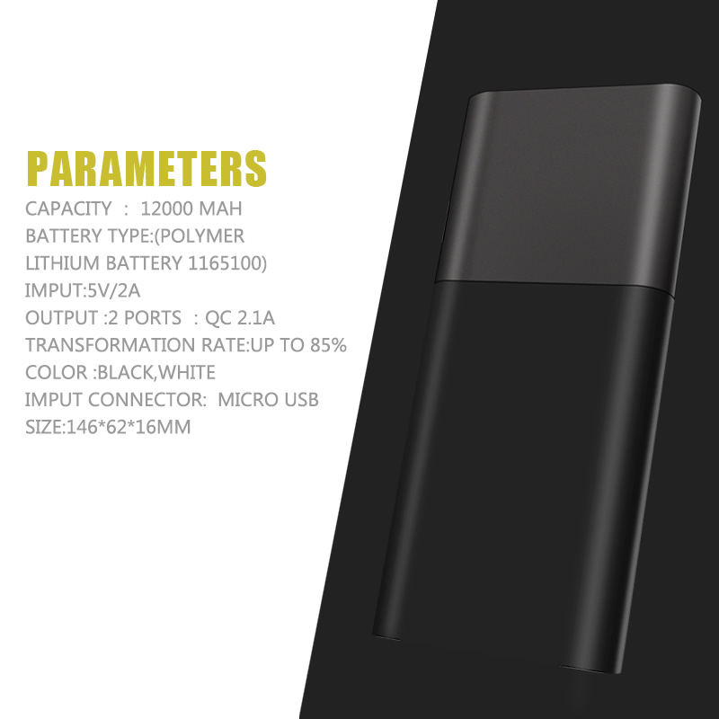 new product ideas 2018 power bank 10000 mah power bank external battery for cell phone