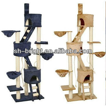 SCF2084 Cat Furniture, Cat Tree, Cat Scrather with Sisal Post