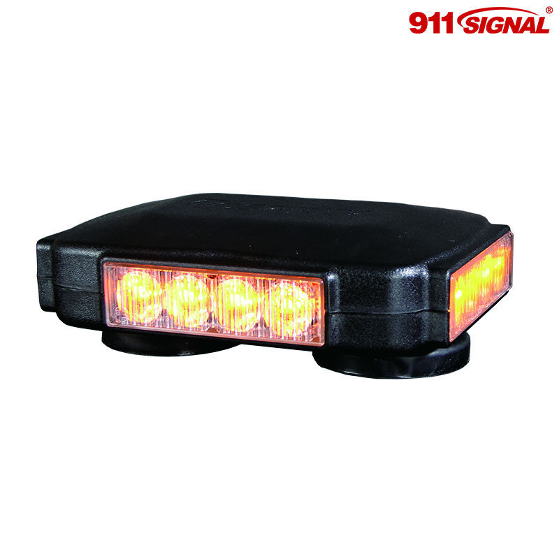 Police Car mini Lightbar , Emergency Warning lightbar with R65 R10 SAE(O4)