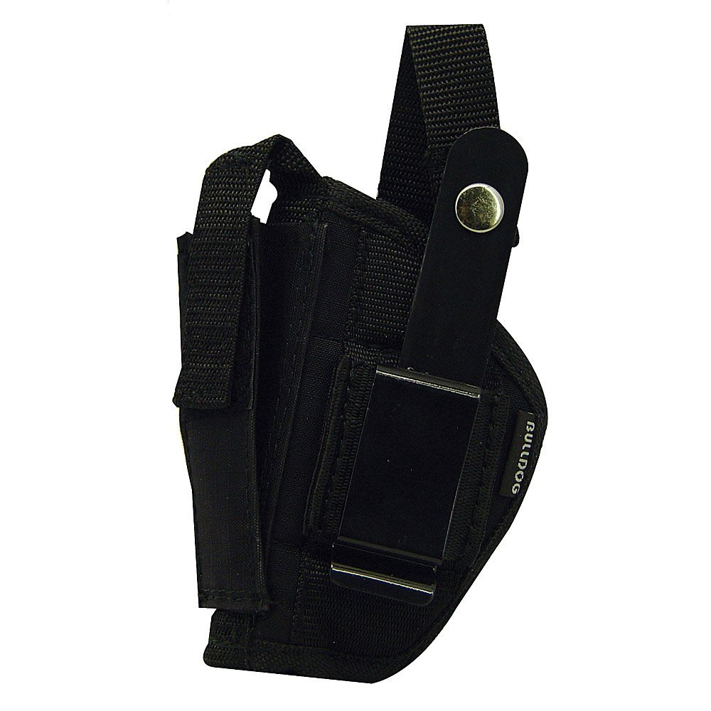 Bulldog Cases Belt and Clip Ambi Holster (Fits Most Revolvers with 2 - 2 1/2-Inch Barrels (Ruger Sp 101)