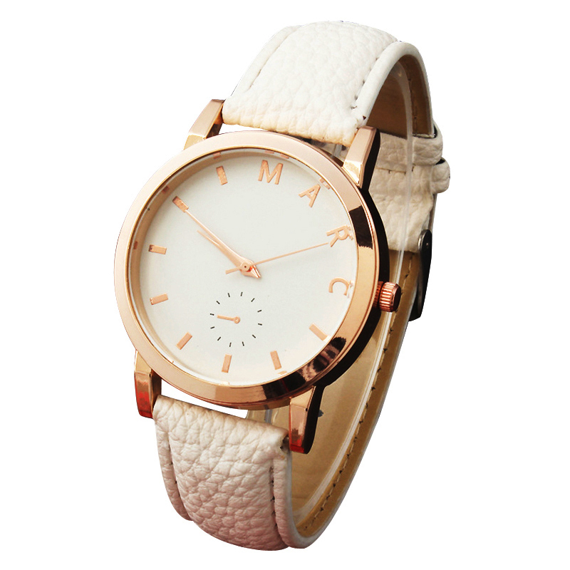 Montre Enfant Simple Fashion Without Digital Dial Leather Women's  Watch Relojes Mujer 2015 Dames Horloges Montre Femme w063