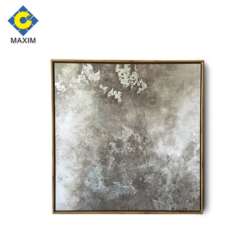 Decorative Wall Art Framed Canvas Painting With Silver Leaf And Gel Coating Buy Decorative Wall Art Canvas Painting Framed Wall Painting Product On