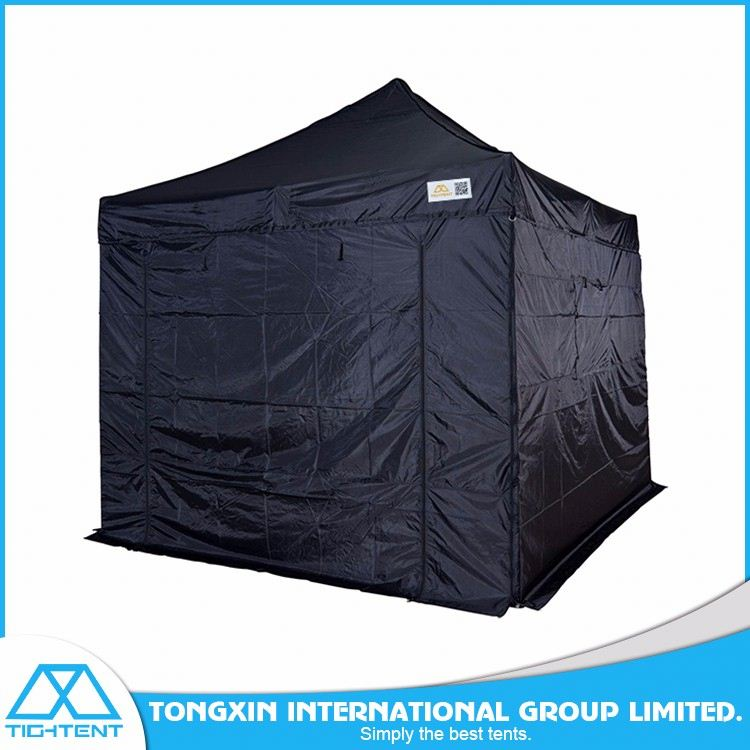 Custom trade fair event display steel 3x3 folding tent