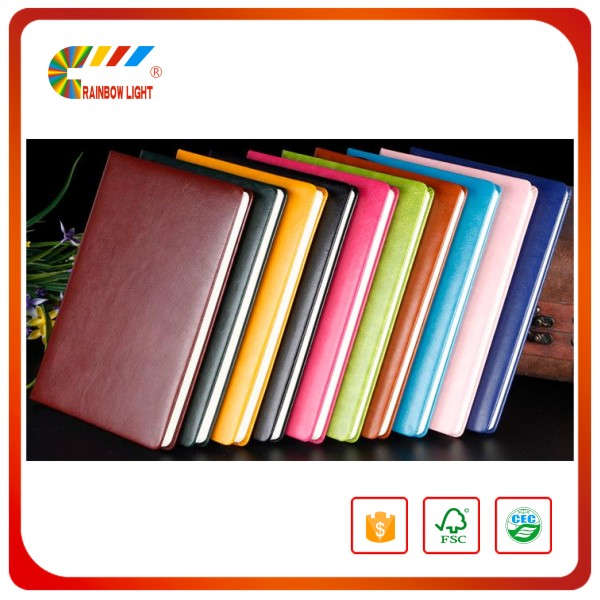 Gold supplier professional custom printing moleskin notebook wholesale