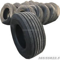 385/55R22.5 stock truck tires in good price and quality