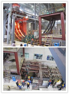 billets blooms slabs Multi-strands continuous casting machine for subsequent rolling