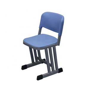 Durable Student School Classroom Chairs Study Chair with PE Seat and Back